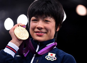 48kg級金メダリストの小原選手!